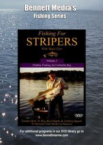 Fishing For Stripers: Flatline Fishing An Umbrella Rig With Mack Farr