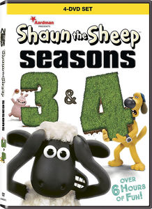 Shaun Sheep: Season 3 and 4