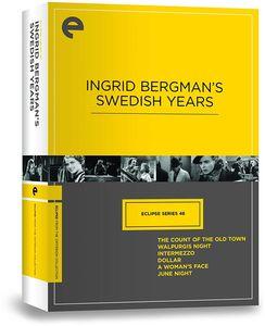 Ingrid Bergman's Swedish Years (Criterion Collection--Eclipse Series 46)