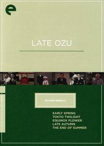 Late Ozu (Eclipse Series 3)