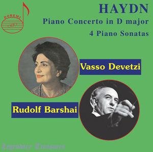 Piano Concerto in D Major /  4 Piano Sonatas