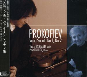 Prokofiev: Violin Sons Nos.1 & 2
