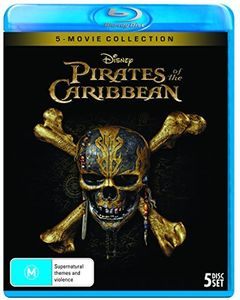 Pirates Of The Caribbean: 5 Movie Collection [Import]