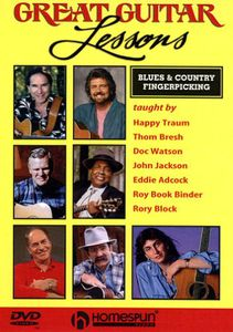 Great Guitar Lessons: Blues and Country Fingerpicking