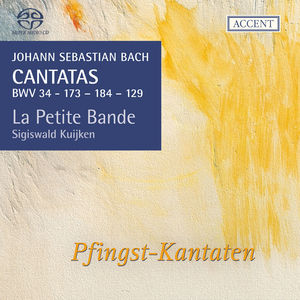 Cantatas:16 BWV34 129 173 & 184
