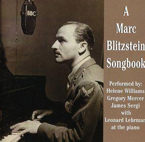 Marc Blitzstein Songbook (Original Soundtrack)