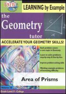 Geometry Tutor: Area of Prisms