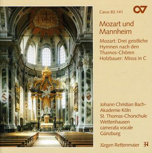 Mass in C /  3 Sacred Hymns