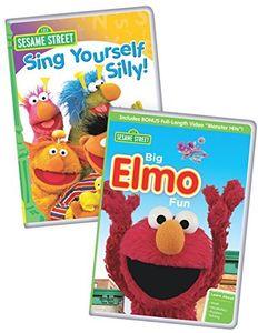 Sesame Street: Big Elmo Fun/ Sing Yourself Silly