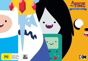 Adventure Time: Seasons 1-5 [Import]