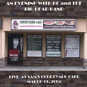Live at Sam's Courtyard Cafe