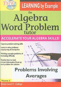 The Algebra Word Problem Tutor: Problems Involving Integers