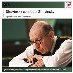 Igor Stravinsky conducts Stravinsky - Symphonies & Concertos