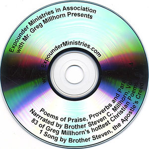 Poems of Praise Proverbs & Parables 4