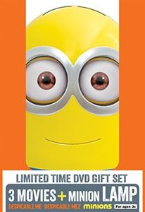 Despicable Me 3 Movie Collection With Minion Lamp (With Minion Lamp)
