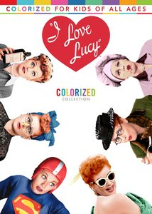 I Love Lucy: Colorized Collection