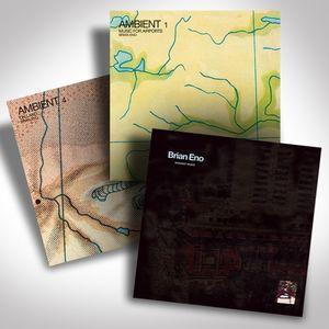 Brian Eno Vinyl Bundle