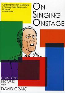 On Singing on Stage: 1
