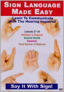 Sign Language Series 37-40