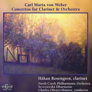 Weber Concertos for Clarinet & Orchestra