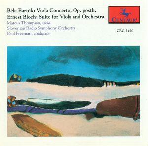 Viola Concerto /  Bloch: Suite