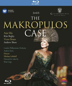 Janacek: The Makropoulos Case (Blu-ray) [Import]