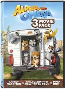 Alpha and Omega 3 Movie Pack