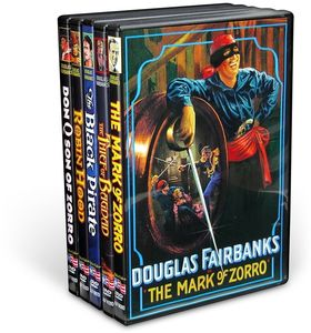 Douglas Fairbanks Silent Classics Collection