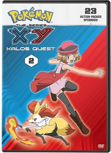 Pokemon the Series: Xy Kalos Quest Set 2