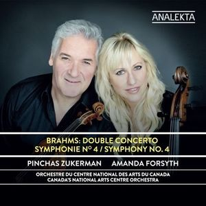 Brahms: Double concerto - Symphony No. 4