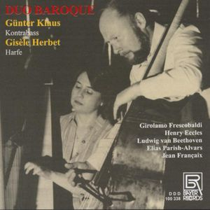 Duo Baroque: Works for Double Bass & Harp /  Various