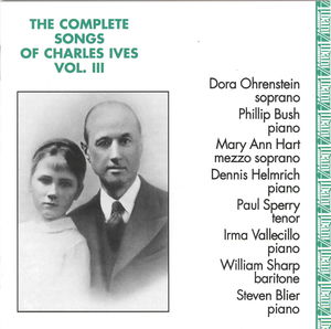 Complete Songs of Charles Ives 3
