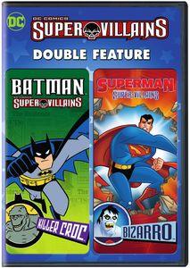 DC Super Villains: Batman Killer Croc /  Superman Bizarro