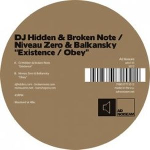 Existence /  Obey , Broken Note