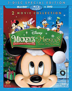 Mickey's Once Upon a Christmas /  Mickey's Twice