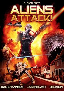 Aliens Attack!: 3 DVD Set