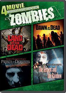 4 Movie Midnight Marathon Pack: Zombies