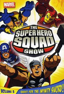 The Super Hero Squad Show: Quest for the Infinity Sword!: Season 1 Volume 3