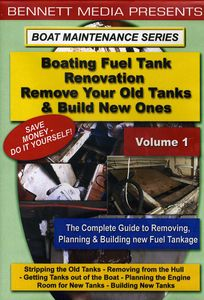 Boating Fuel Tank Renovation 1-Removing Old T