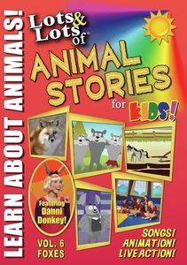 Lots & Lots Of Animal Stories For Kids V6 Foxes