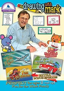 Drawing With Mark: Take Flight /  As The Wheels