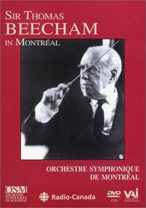 Sir Thomas Beecham in Montreal