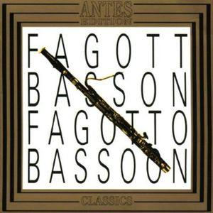 Fagott 1 Bassoon /  Son for Bassoon & Basso
