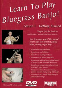 Learn to Play Bluegrass Banjo Lesson 1 Get Started