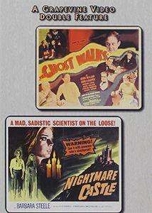 Ghost Walks (1934) /  Nightmare Castle (1964)