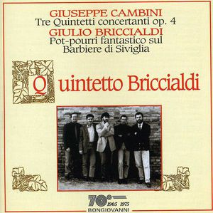 Tre Quintetti Concertanti Op 4 Per Flauto Oboe