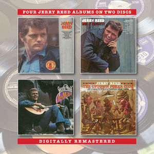 Jerry Reed /  Hot A Mighty /  Lord Mr Ford /  Uptown Poker Club [Import]