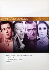 FOX Studio Classics: Anna and the King of Siam /  Can-Can /  Daddy Long Legs /  Star!