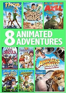 8 Film Animated Adventures Pack