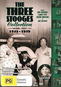 Three Stooges: Volume 8 - 1955-1959 [Import]